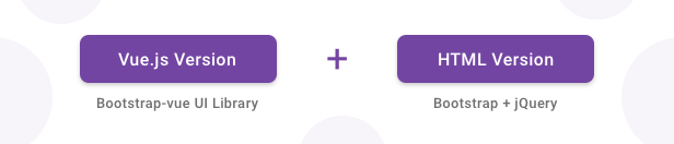 vue+html banner - Gull -  HTML & Vuejs Admin Dashboard Template