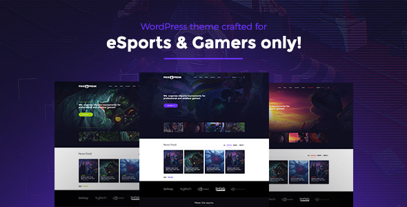 01 cover.  large preview - PixieFreak | eSports gaming theme for teams & tournaments