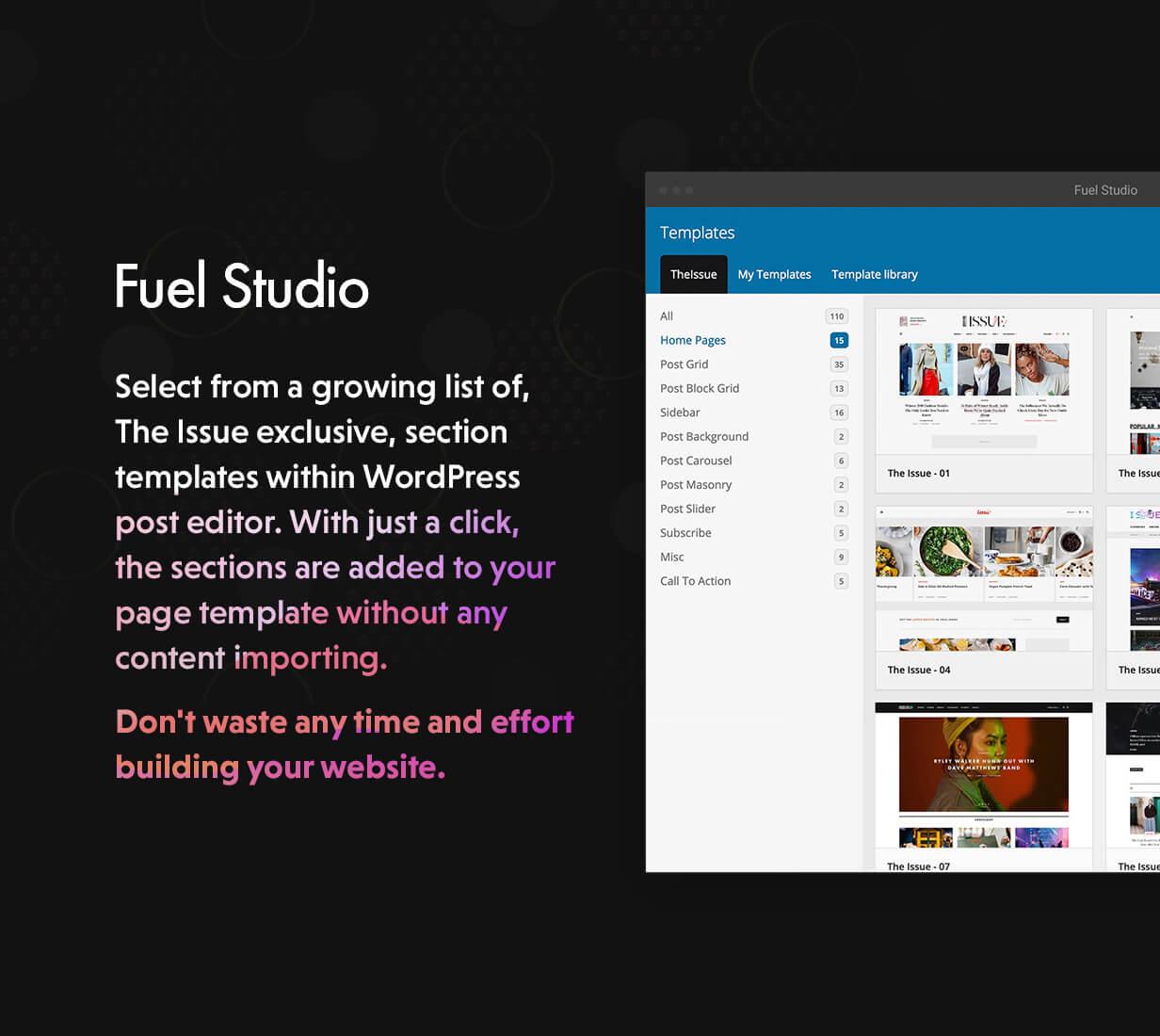 02 - The Issue - Versatile Magazine WordPress Theme