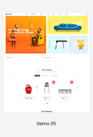 05 furniture  - Puca - Optimized Mobile WooCommerce Theme
