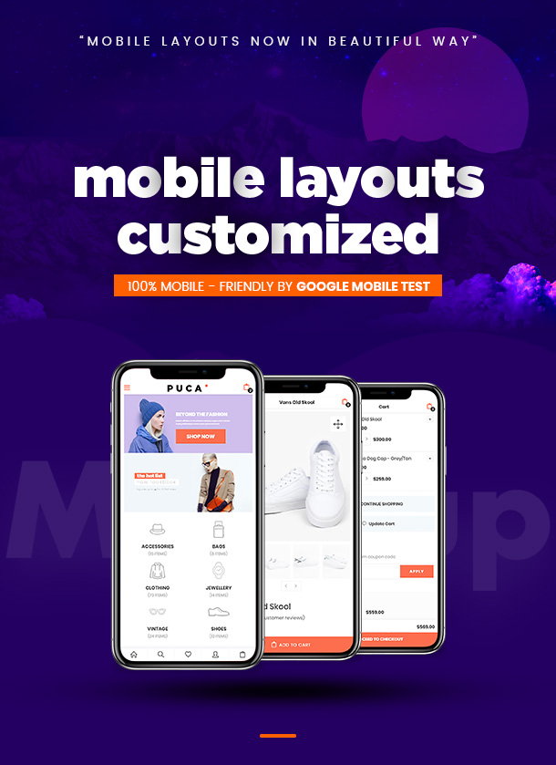 05 puca info 1 - Puca - Optimized Mobile WooCommerce Theme