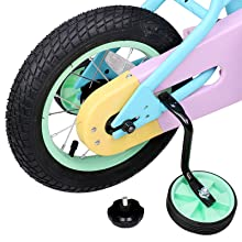 """064f4caa 45e0 43fb 9a3f 68a48d6cefd5. CR0,0,800,800 PT0 SX220   - JOYSTAR 12"""" 14"""" 16"""" Kids Bike for 2-7 Years Girls 33-53 inch Tall, Girls Bicycle with Training Wheels & Coaster Brake, 85% Assembled, Macarons"""