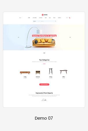 07 furniture  - Puca - Optimized Mobile WooCommerce Theme
