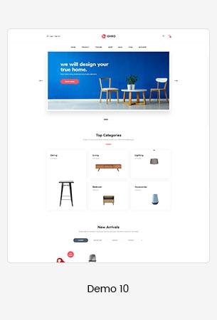 10 furniture  - Puca - Optimized Mobile WooCommerce Theme