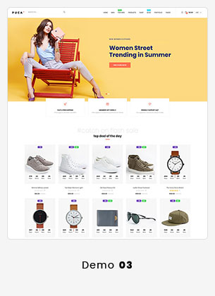 10 puca info - Puca - Optimized Mobile WooCommerce Theme