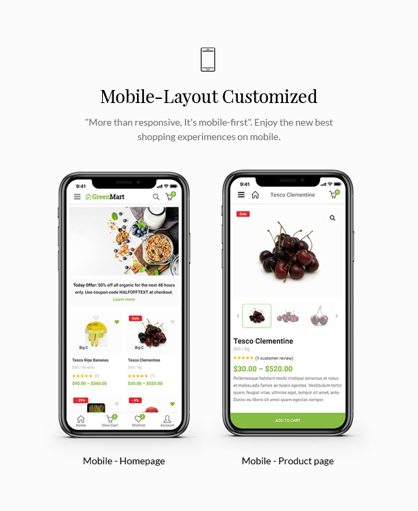 11 info - GreenMart – Organic & Food WooCommerce WordPress Theme