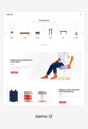 12 furniture  - Puca - Optimized Mobile WooCommerce Theme