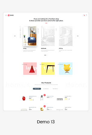 13 furniture  - Puca - Optimized Mobile WooCommerce Theme