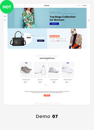 14 puca info - Puca - Optimized Mobile WooCommerce Theme