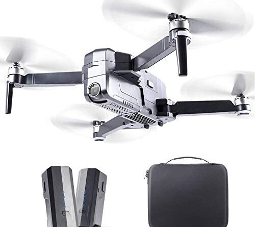 1619988558 41ugucCCjAL. AC  500x445 - Ruko F11 Pro Drones with Camera for Adults 4K UHD Camera Live Video 30 Mins Flight Time with GPS Return Home Brushless Motor-Black(1 Extra Battery + Carrying Case)