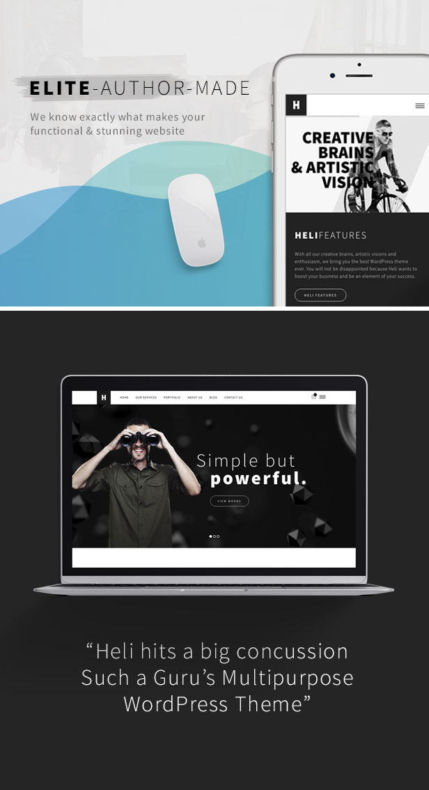 1622292823 293 14 - Heli - Minimal Creative Black and White WordPress Theme