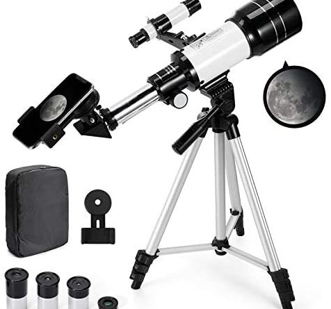 1622369207 419X1IxwiRL. AC  476x445 - Astronomical Telescope Zoom 150X Adjustable Tripod Backpack Phone Holder for Moon Viewing - 70mm Aperture 300mm AZ Mount Astronomical Refracting Telescope for Kids Beginners