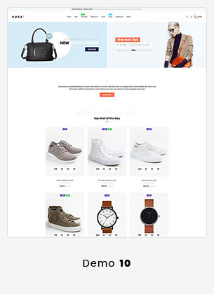 17 puca info - Puca - Optimized Mobile WooCommerce Theme