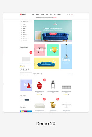 20 furniture  - Puca - Optimized Mobile WooCommerce Theme