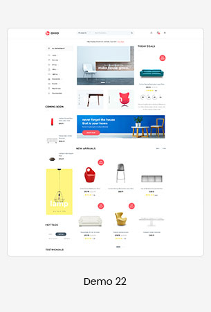 22 furniture  - Puca - Optimized Mobile WooCommerce Theme