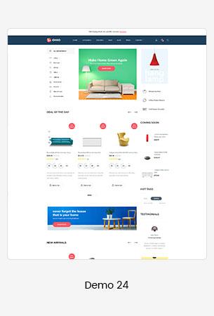 24 furniture  - Puca - Optimized Mobile WooCommerce Theme