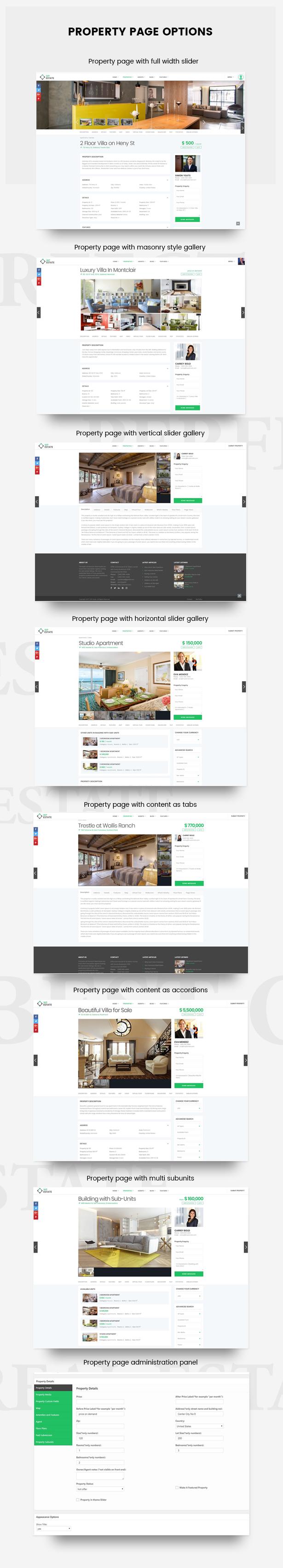 2property page - WpEstate Real Estate WordPress Theme