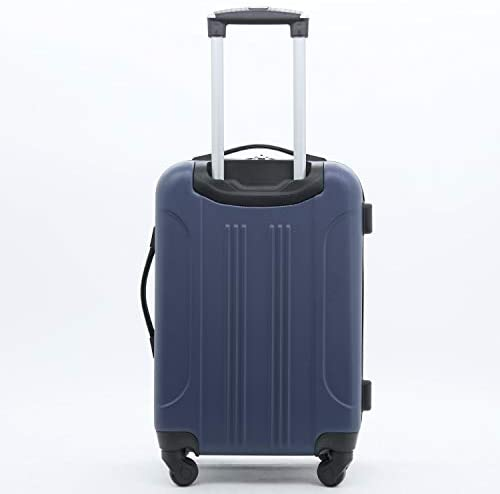 31+TozvgRqL. AC  - Travelers Club Midtown Hardside 4-Piece Luggage Travel Set, Navy Blue