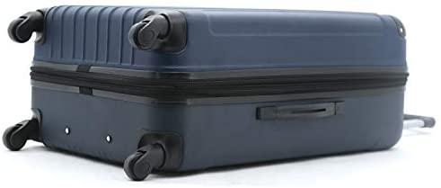 31Bw5l6RIZL. AC  - Travelers Club Midtown Hardside 4-Piece Luggage Travel Set, Navy Blue