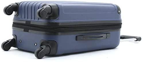 31kFGt+gTrL. AC  - Travelers Club Midtown Hardside 4-Piece Luggage Travel Set, Navy Blue