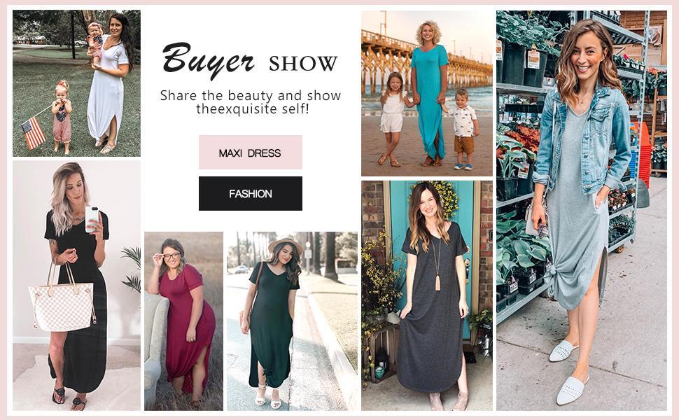 329d2a22 b4f9 483c b243 7ea20703f847.  CR0,0,970,600 PT0 SX970 V1    - GRECERELLE Women's Casual Loose Pocket Long Dress Short Sleeve Split Maxi Dresses