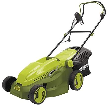 41DCMMSvSKL. AC  - MJ402E Mow Joe 16-Inch 12-Amp Electric Lawn Mower + Mulcher
