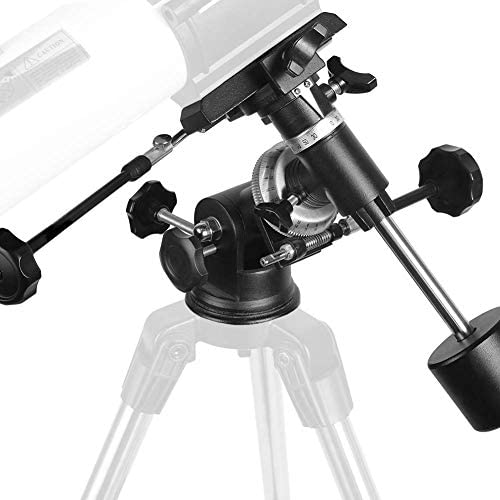 41N9aDtuzQL. AC  - Telescopes for Adults, 80mm Aperture and 700mm Focal Length Astronomy Refractor Telescope for Kids and Beginners - with EQ Mount, 2 Eyepieces and Phone Adaptor