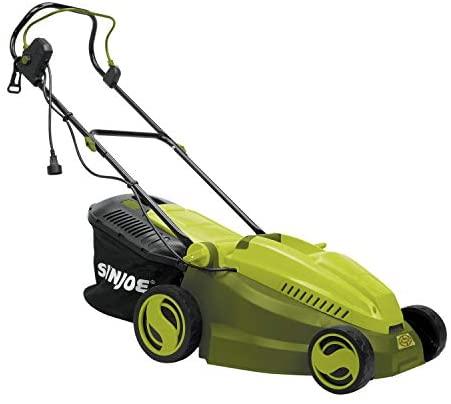 41RPLAybFsL. AC  - MJ402E Mow Joe 16-Inch 12-Amp Electric Lawn Mower + Mulcher