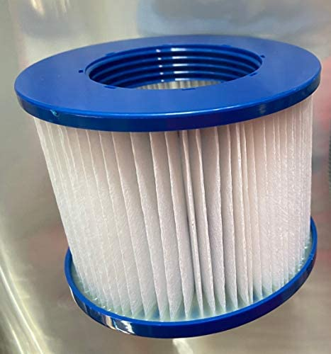 41hJdubSV7L. AC  - BEYOND MARINA Hot Tub Filter Pool Spa Filters Replacement Cartridge Easy Set (1 Pack)
