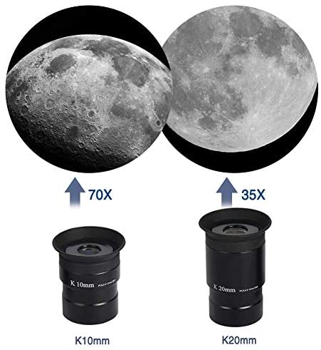 41r0OZtmzWL. AC  - Telescopes for Adults, 80mm Aperture and 700mm Focal Length Astronomy Refractor Telescope for Kids and Beginners - with EQ Mount, 2 Eyepieces and Phone Adaptor
