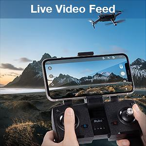 42159b6c a901 4f5d ac7b 9eff91be044f.  CR0,0,300,300 PT0 SX300 V1    - Ruko F11 Pro Drones with Camera for Adults 4K UHD Camera Live Video 30 Mins Flight Time with GPS Return Home Brushless Motor-Black(1 Extra Battery + Carrying Case)