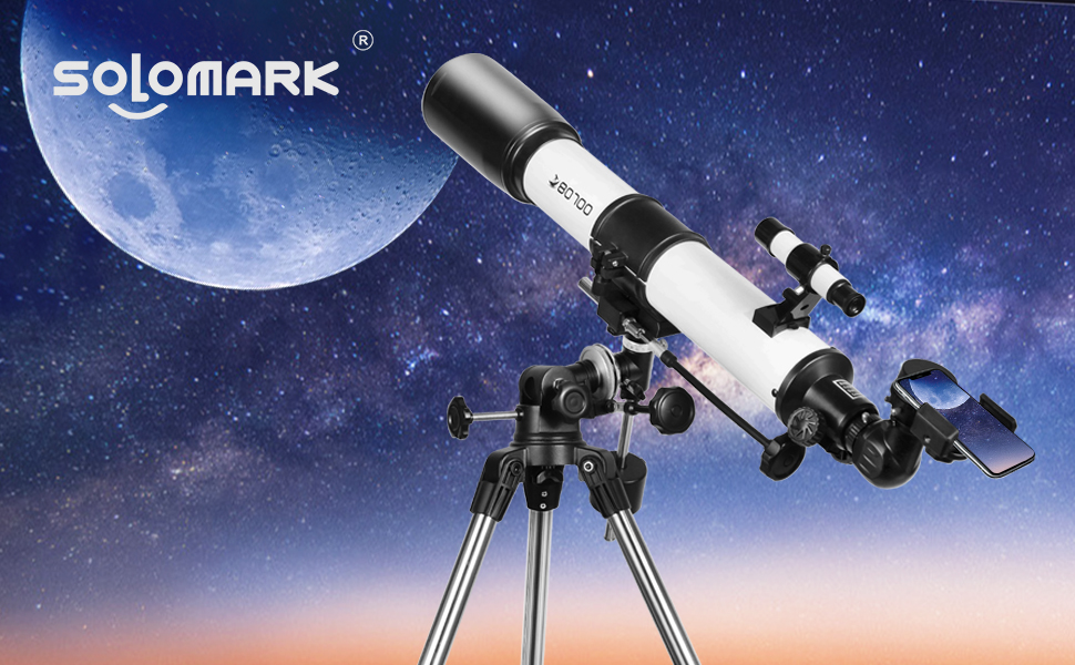 44890706 45f1 4a5e a2c6 b1e609d0bea7.  CR0,0,970,600 PT0 SX970 V1    - Telescopes for Adults, 80mm Aperture and 700mm Focal Length Astronomy Refractor Telescope for Kids and Beginners - with EQ Mount, 2 Eyepieces and Phone Adaptor