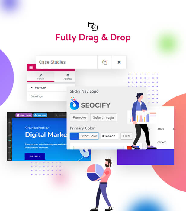 4Elementor - SEO Digital Marketing Agency WordPress Theme