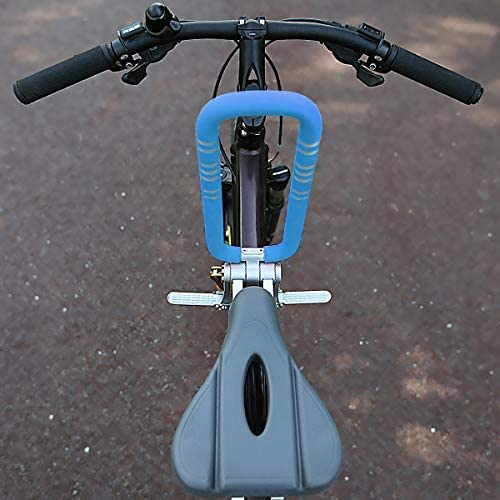 510ehsJNPQL. AC  - UrRider Child Bike Seat, Portable, Foldable & Ultralight Front Mount Baby Kids' Bicycle Carrier with Handrail for Mountain Bikes, Hybrid Bikes, Fitness Bikes