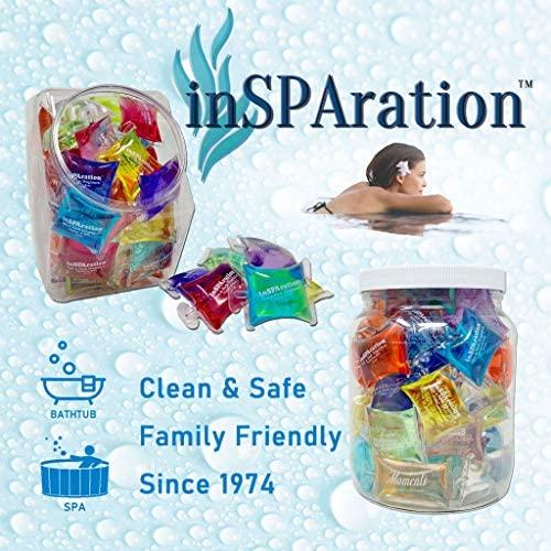 510v3ToVEKL. AC  - InSPAration 152 Hot Tub Spa & Bath Aromatherapy Fragrance Assortment-50 Pillow Packs Fish Bowl 50pk Assortment, Multiple