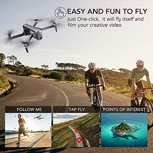 514kTWoW+YS. AC  - Ruko F11 Pro Drones with Camera for Adults 4K UHD Camera Live Video 30 Mins Flight Time with GPS Return Home Brushless Motor-Black(1 Extra Battery + Carrying Case)