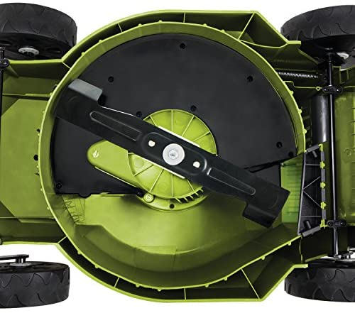 514vqTeyIkL. AC  - MJ402E Mow Joe 16-Inch 12-Amp Electric Lawn Mower + Mulcher
