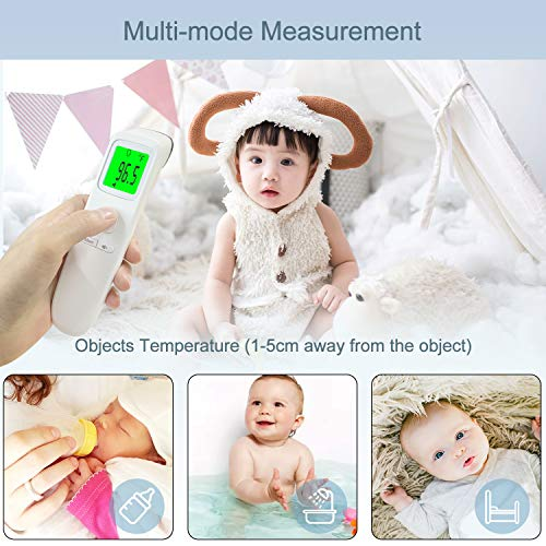 518Rro9OhmL - XDX Thermometer for Adults Forehead, No Touch Thermometer with Fever Alarm and Memory Ideal for Babies, Kids, Adults, Indoor Outdoor Medical Use