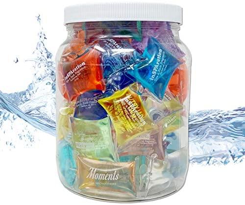 51DZTBwRy9L. AC  - InSPAration 152 Hot Tub Spa & Bath Aromatherapy Fragrance Assortment-50 Pillow Packs Fish Bowl 50pk Assortment, Multiple