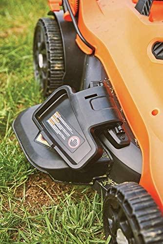 51G5dUj+I8L. AC  - BLACK+DECKER Lawn Mower, Corded, 13 Amp, 20-Inch (BEMW213)