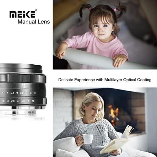 51KVoSiTZSL. AC  - Meike 25mm F1.8 Large Aperture Wide Angle Lens Manual Focus Lens for Olypums Panasonic M43 Mount Mirrorless Cameras