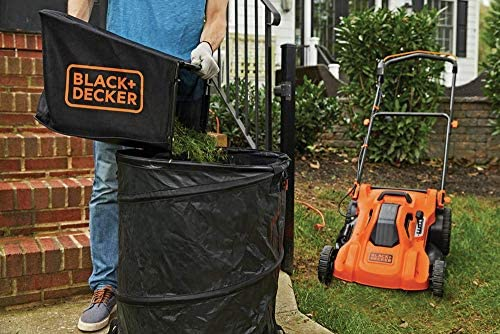 51LWoDkbeFL. AC  - BLACK+DECKER Lawn Mower, Corded, 13 Amp, 20-Inch (BEMW213)