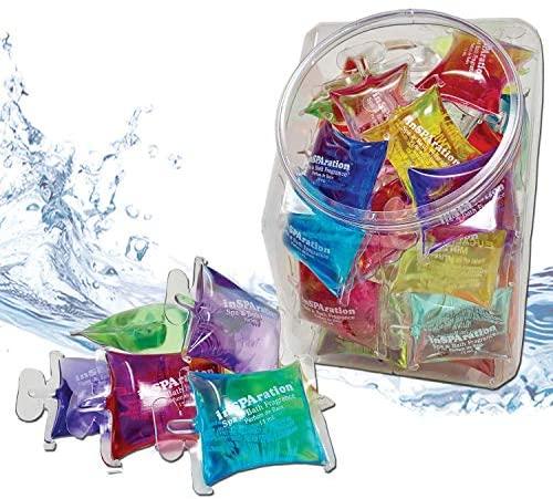 51Qssfdv8JL. AC  - InSPAration 152 Hot Tub Spa & Bath Aromatherapy Fragrance Assortment-50 Pillow Packs Fish Bowl 50pk Assortment, Multiple