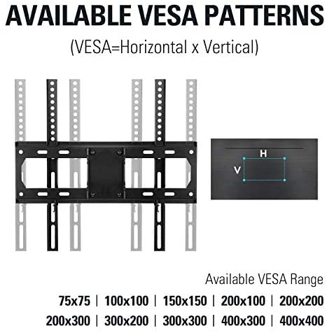 """51d8r3ppQGL. AC  - Mounting Dream TV Mount Full Motion TV Wall Mounts for 26-55 Inch Flat Screen TV, Wall Mount TV Bracket with Dual Arms, Max VESA 400x400mm and 99 LBS, Fits 16"""", 18"""", 24"""" Studs MD2380-24K TV Mounts"""