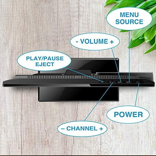 51owVkMQgoL. AC  - Axess TVD1805-15 LED HDTV Includes AC/DC TV DVD Player HDMI/SD/USB Inputs, Wall Mountable, Stereo Speaker (15.6 Inch)