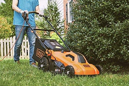 61543LAXXDL. AC  - BLACK+DECKER Lawn Mower, Corded, 13 Amp, 20-Inch (BEMW213)