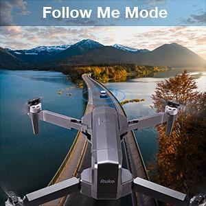 61d8cbae 1337 481a 9823 c15c8fba4ff2.  CR0,0,300,300 PT0 SX300 V1    - Ruko F11 Pro Drones with Camera for Adults 4K UHD Camera Live Video 30 Mins Flight Time with GPS Return Home Brushless Motor-Black(1 Extra Battery + Carrying Case)