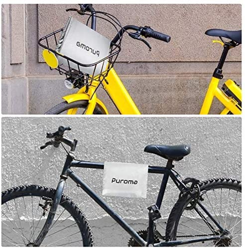 61o+rMJ8jvL. AC  - Puroma Bike Cover Outdoor Waterproof Bicycle Covers Rain Sun UV Dust Wind Proof with Lock Hole for Mountain Road Electric Bike