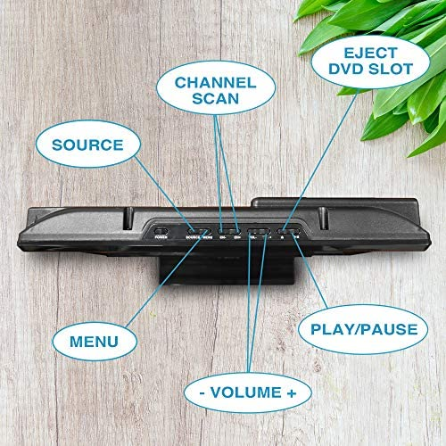 61o9QrMEf L. AC  - Axess TVD1805-15 LED HDTV Includes AC/DC TV DVD Player HDMI/SD/USB Inputs, Wall Mountable, Stereo Speaker (15.6 Inch)