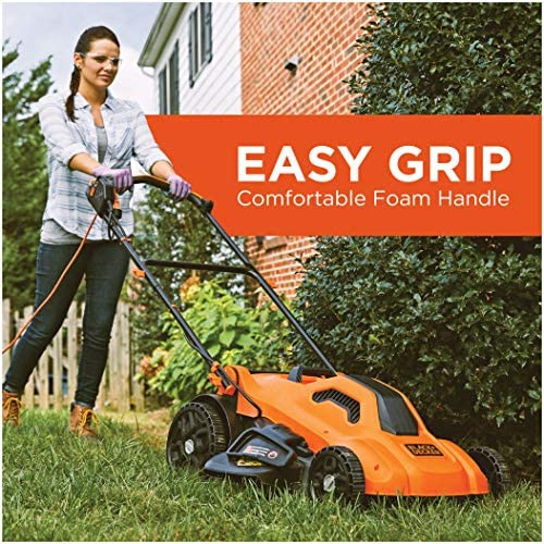 61s7UpSlqVL. AC  - BLACK+DECKER Lawn Mower, Corded, 13 Amp, 20-Inch (BEMW213)
